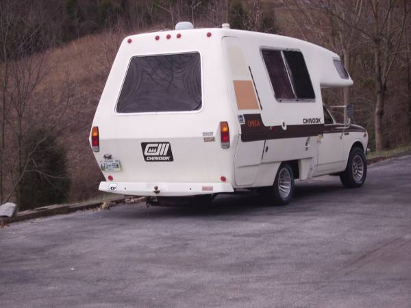 1978 Toyota Chinook 20R 4CYL Motorhome For Sale in ...