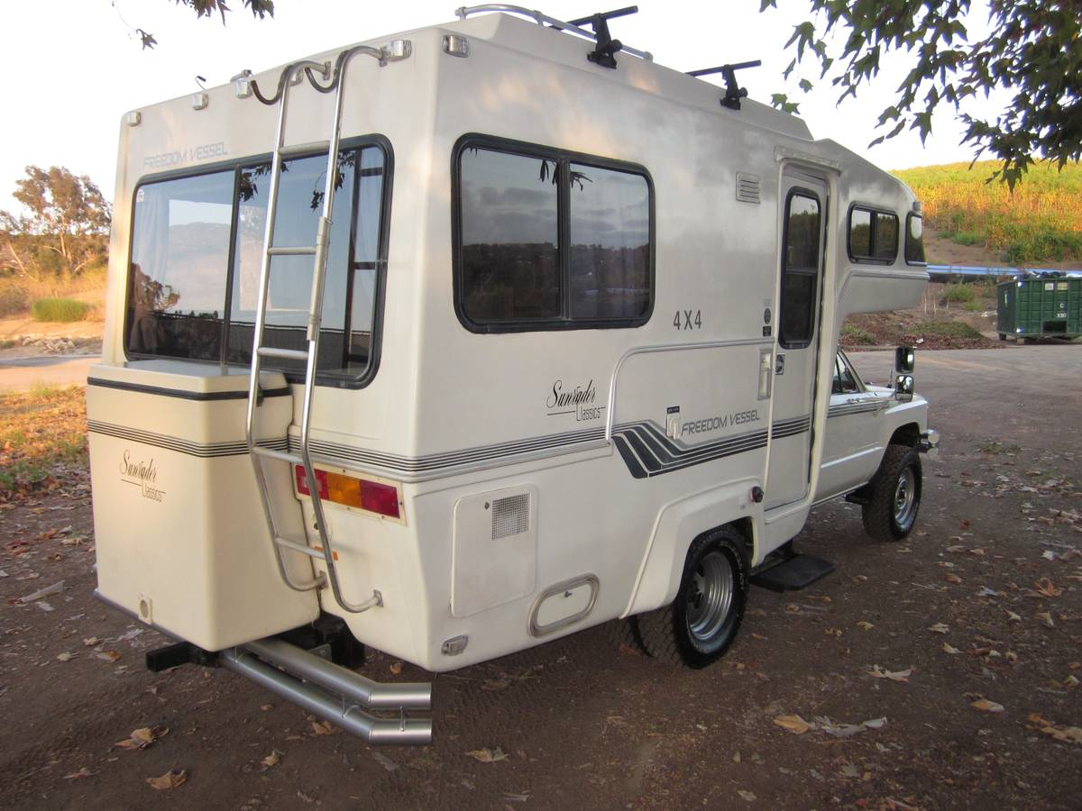 1986 Toyota 18 Ft Sunrader 2x4 For Sale In Carlsbad