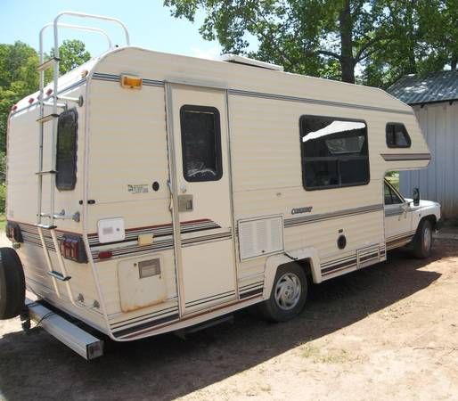 Used Toyota Campers For Sale: 1986 Toyota Conquest Mini Motorhome Class C For Sale In