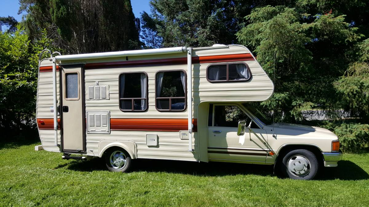 1987 Toyota Slumber Queen 20 5 Ft Motorhome For Sale In