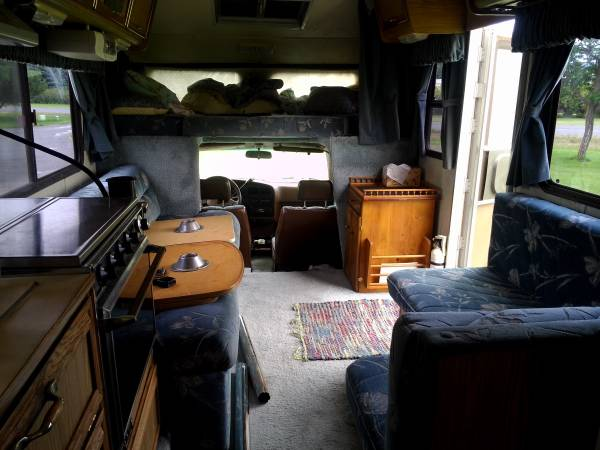 1989 Toyota Odyssey 3 0l V6 21ft Motorhome For Sale