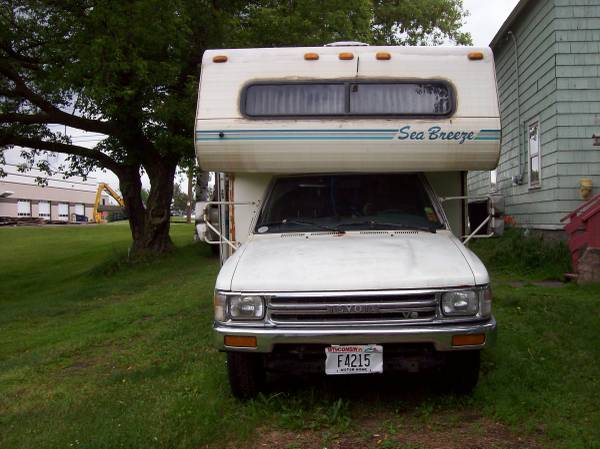 1991 Toyota Seabreeze Mini Motorhome For Sale In Superior