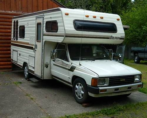 1984 Toyota Dolphin 22r Motorhome For Sale In St Helens