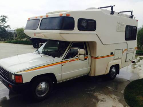 Unique 1984 Toyota Dolphin Motorhome For Sale In Joshua Tree CA