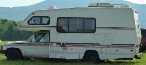 1987 Toyota Rv Winnebago 21ft Motorhome For Sale In