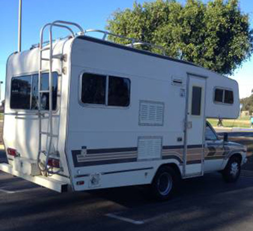 Used Toyota Campers For Sale: 1981 Toyota Huntsman Motorhome For Sale In North Park CA