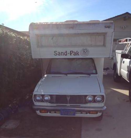 1978 Toyota Sandpak Motorhome For Sale In Lompoc California