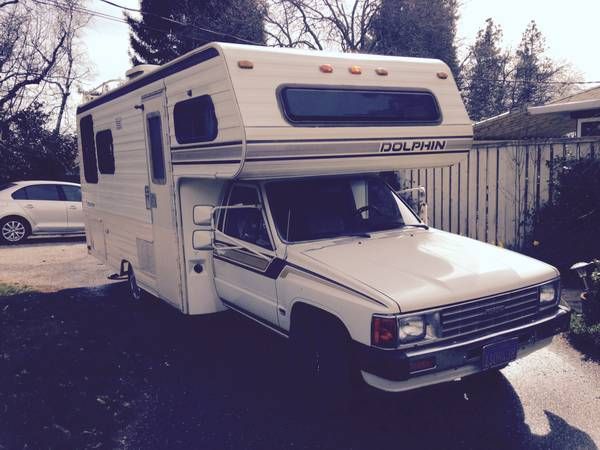 New 1986 Toyota Sunrader Motorhome For Sale In Tracy CA