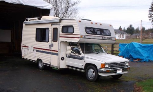 22re Engine For Sale >> 1987 Toyota Dolphin Motorhome For Sale in Rochester Washington