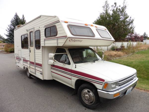 1992 Toyota Odyssey Motorhome For Sale in Spokane Valley ...