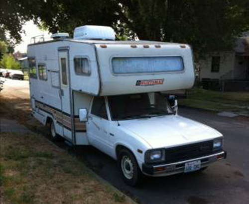 New 1986 Toyota Dolphin Motorhome For Sale In Kennewick WA