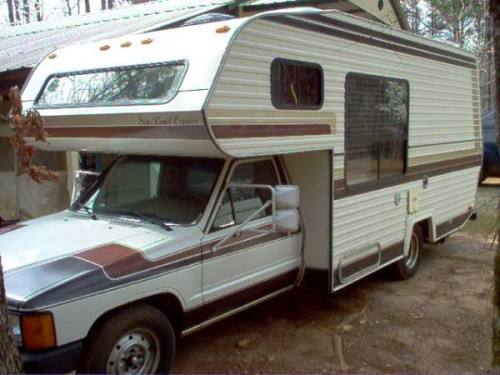 Motorhome For Sale Miami >> 1986 Toyota Sun Land Express Motorhome For Sale in South of Newnan GA