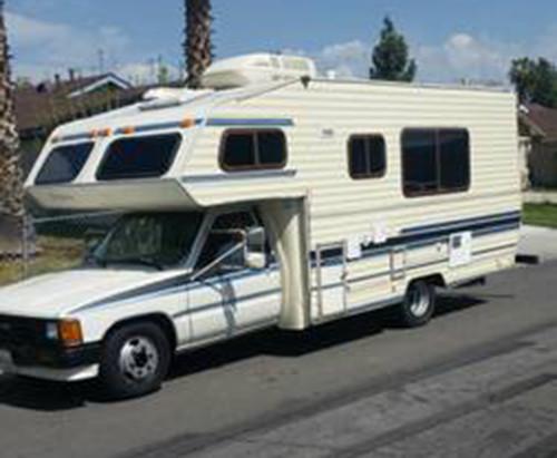 1987 Toyota Odyssey Motorhome For Sale in Bakersfield CA