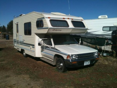 1991 Toyota Odyssey Motorhome For Sale in West Slope CO