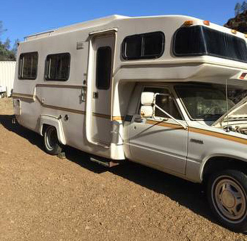 Used Toyota Campers For Sale: 1982 Toyota Sunrader Motorhome For Sale In Del Puerto