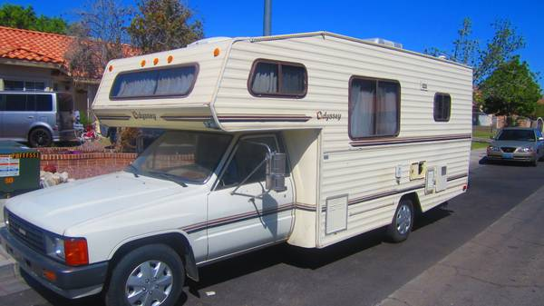 Simple 1985 Toyota Motorhome For Sale In East Las Vegas NV