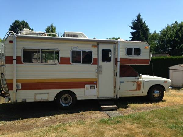 1978 Toyota Mini Mirage Motorhome For Sale In Salem Or
