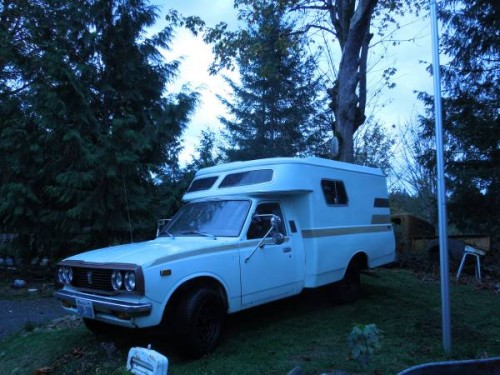 1977 Toyota Chinook Motorhome For Sale In Auburn Wa