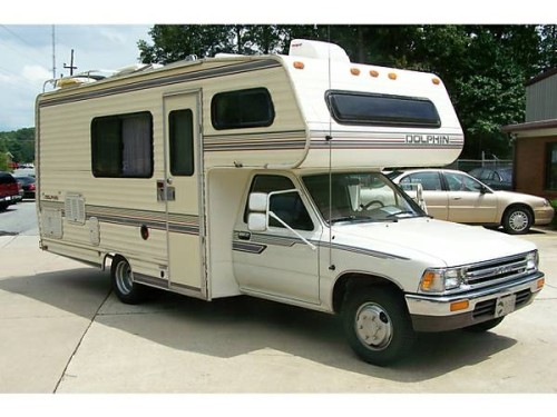 1986 toyota dolphin motorhome for sale in klamath falls or. Black Bedroom Furniture Sets. Home Design Ideas