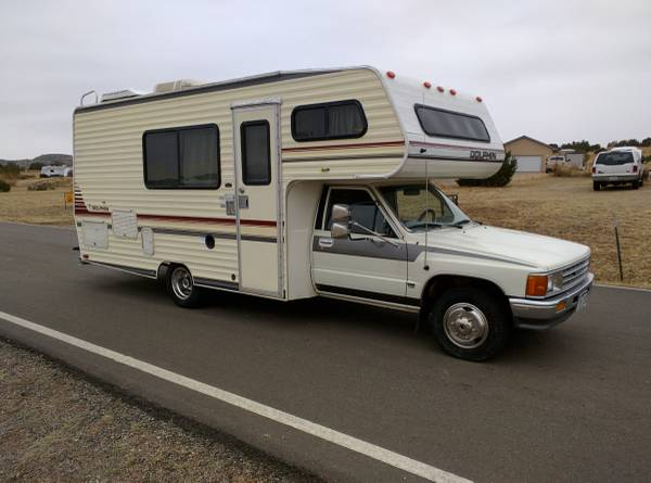 1989 toyota dolphin motorhome for sale in colorado springs co for Toyota motor city colorado springs