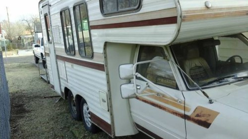 1980 Toyota Dolphin Motorhome For Sale In Amarillo Tx