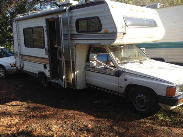 Amazing 1985 Toyota Gran Sport Motorhome For Sale In San Diego CA