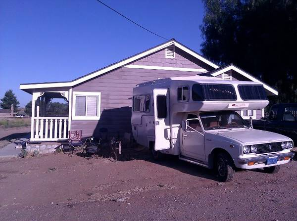 Elegant 1986 Toyota Sunrader Motorhome For Sale In Yucaipa California  7500