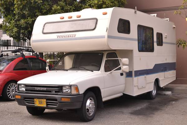 Beautiful 1982 Toyota Sunrader Motorhome For Sale In Manteca California