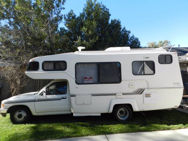 Wonderful 1984 Toyota Coachmen Motorhome For Sale In Concord CA