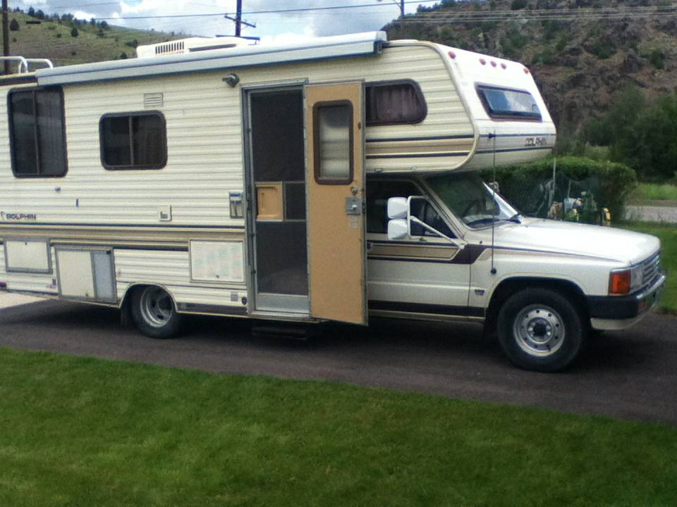 1986 Toyota Dolphin Motorhome For Sale In Anaconda Mt