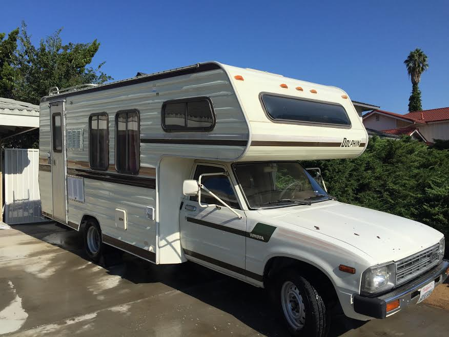 Excellent 1989 Toyota Sunrader Motorhome For Sale In San Luis Obispo CA