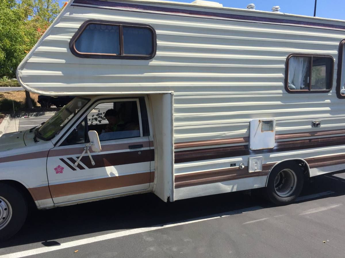 Simple 1989 Toyota Dolphin Motorhome For Sale In Citrus Heights CA