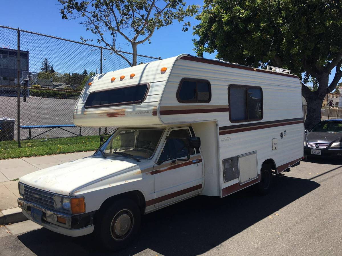 Perfect 1983 Toyota Motorhome For Sale In Modesto CA