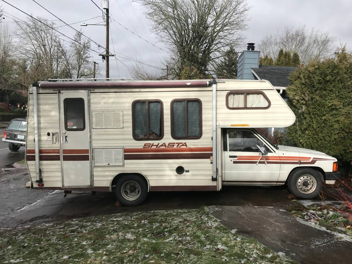 Used Motorhomes For Sale By Owner >> 1985 Toyota Shasta Motorhome For Sale in NE Portland, Oregon
